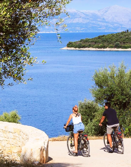 bike rental meganissi greece