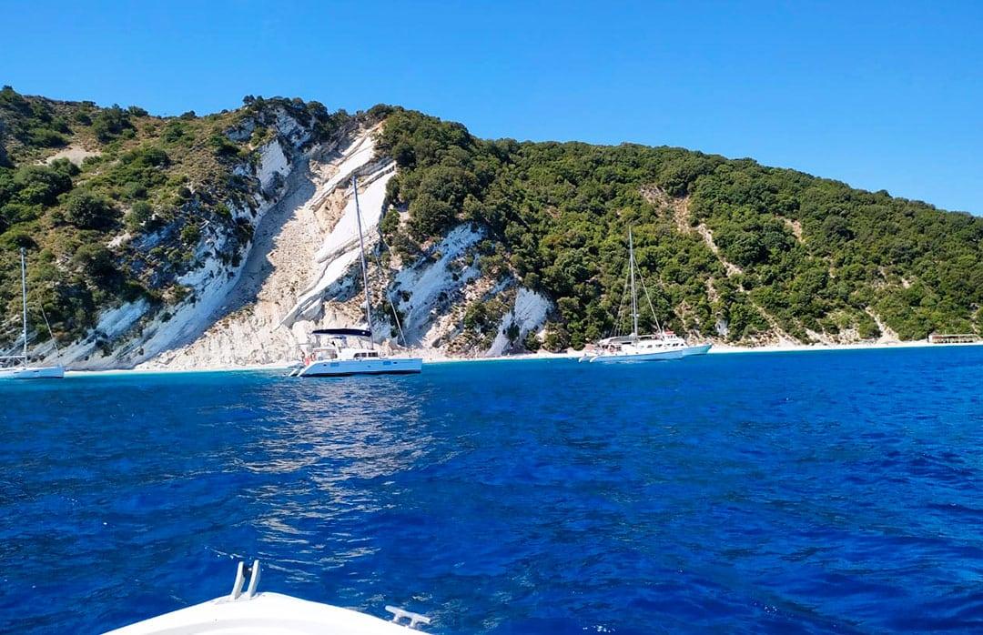 island meganisi beach