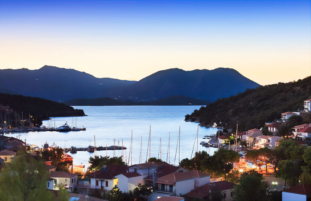 meganissi city greece