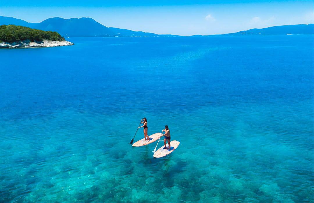 paddle meganisi island