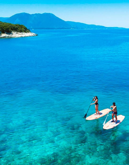 paddle rental meganissi greece