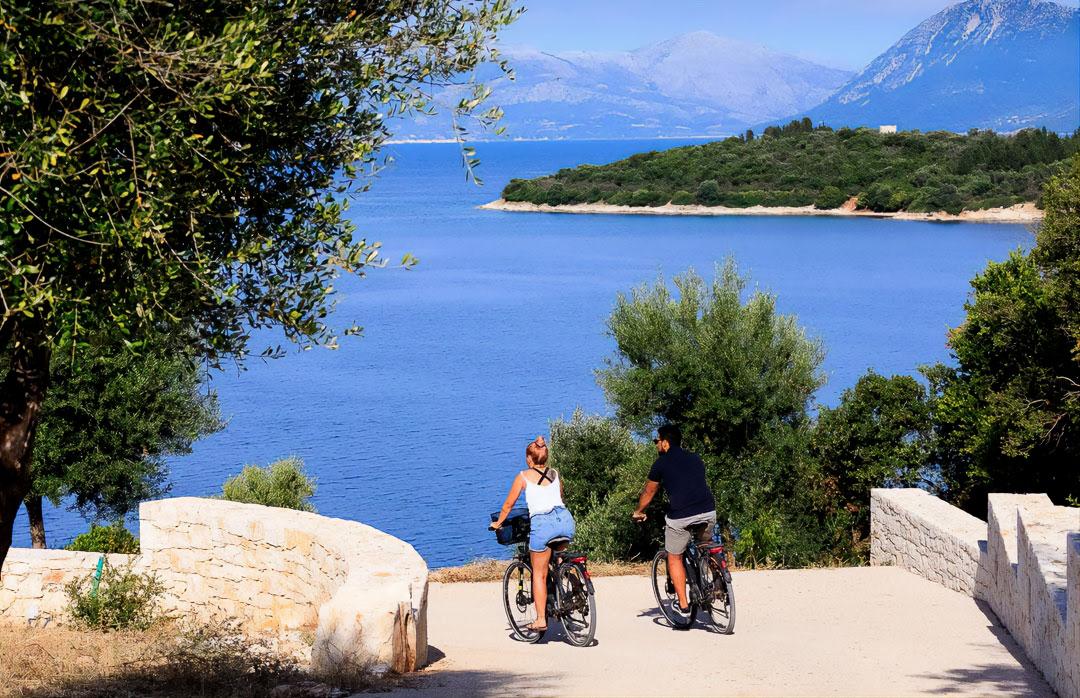 rental bike meganisi island