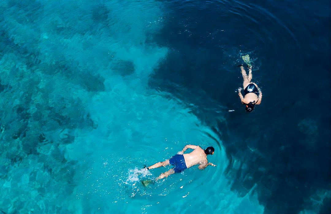 snorkeling meganisi beach