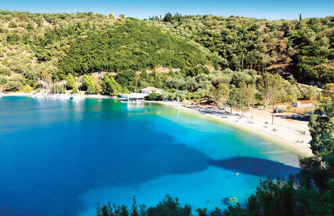 spilia beach meganissi